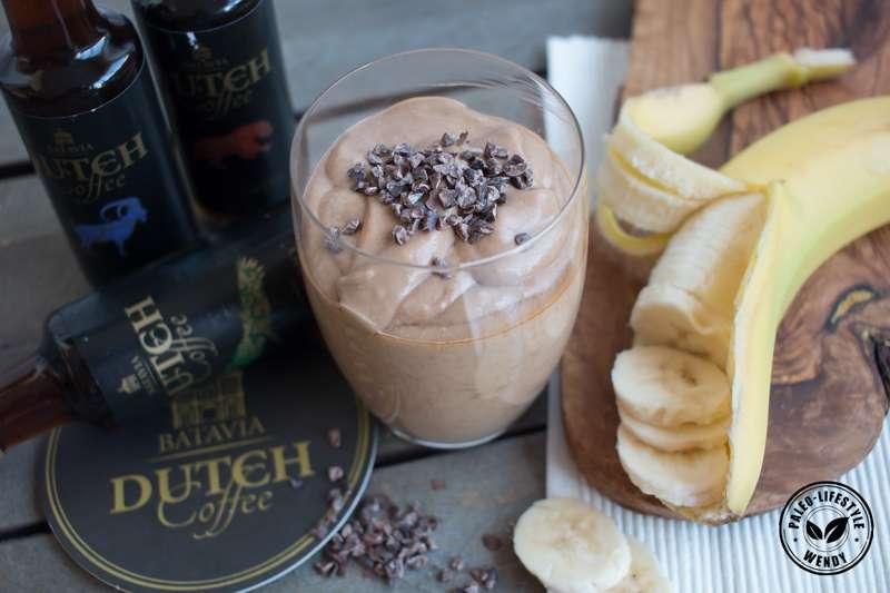 Paleo recept: koffie-banaan-shake