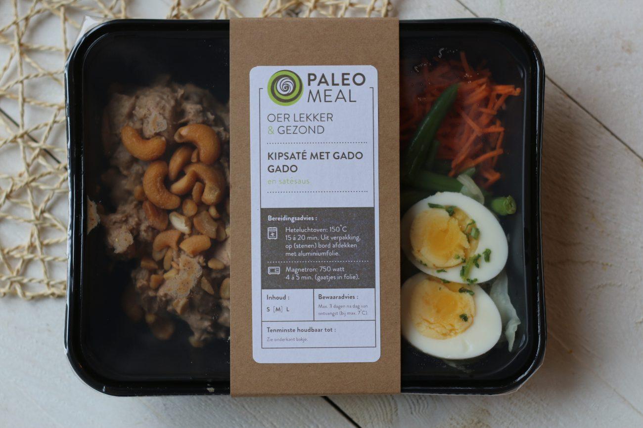 Paleo Meal: kipsaté met gado gado