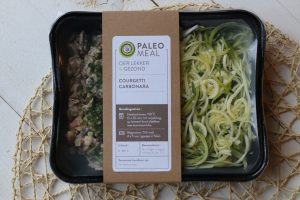 Paleo Meal: courgetti carbonara