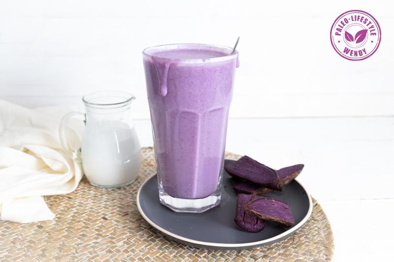 Paleo paarse smoothie