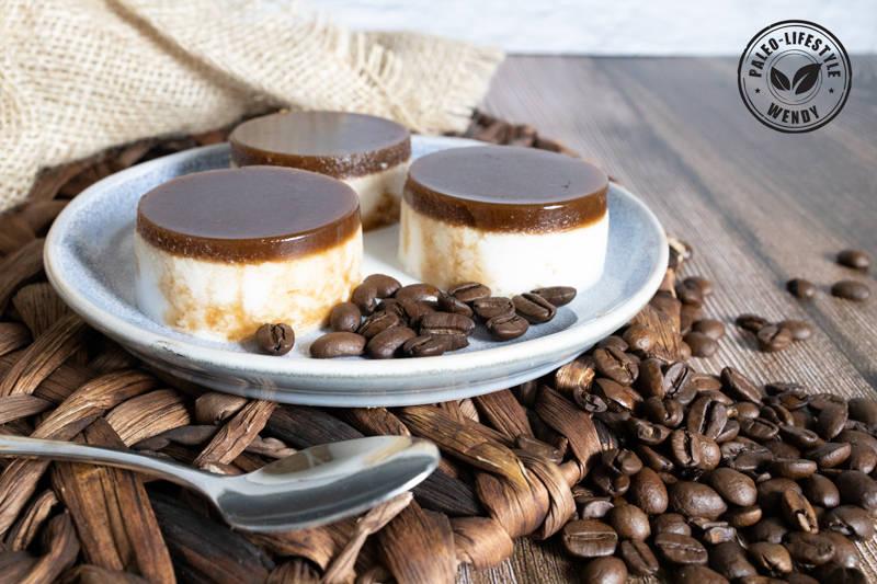 Paleo cappuccino puddinkjes