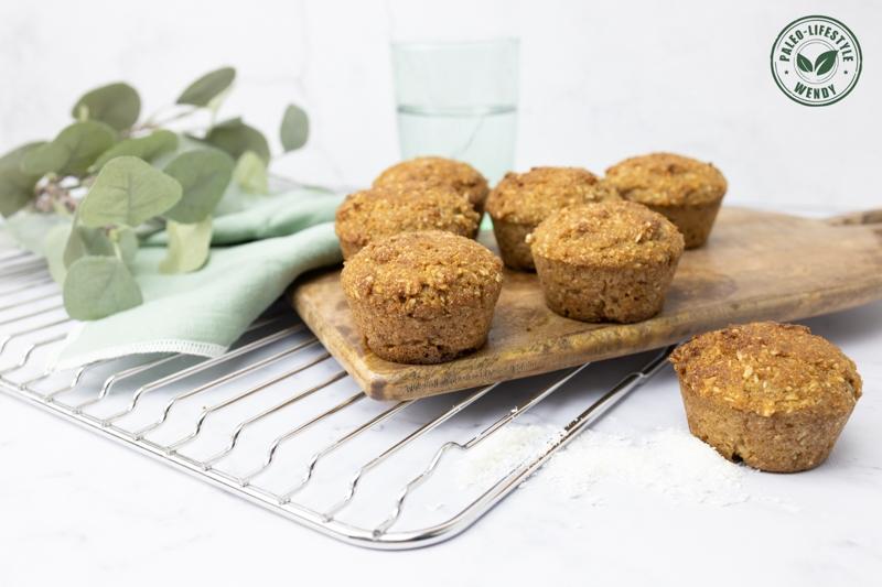 Paleo Kokos limoen muffins 2