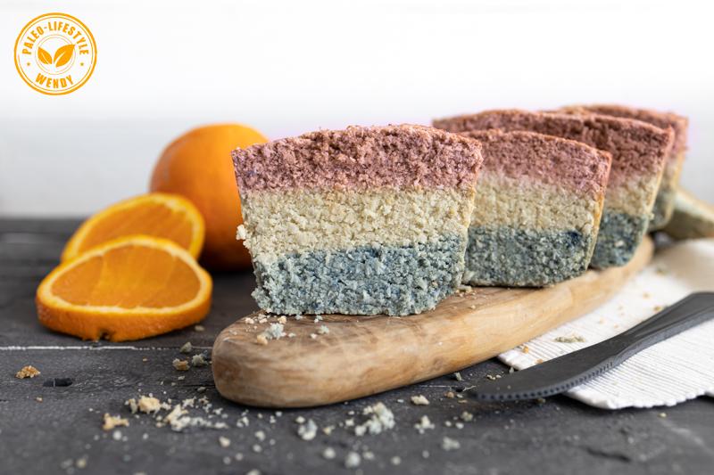 Paleo Hollandse vlag cake