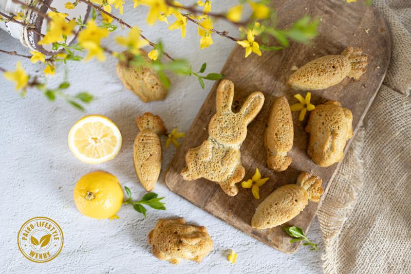 Paleo paascake met citroen